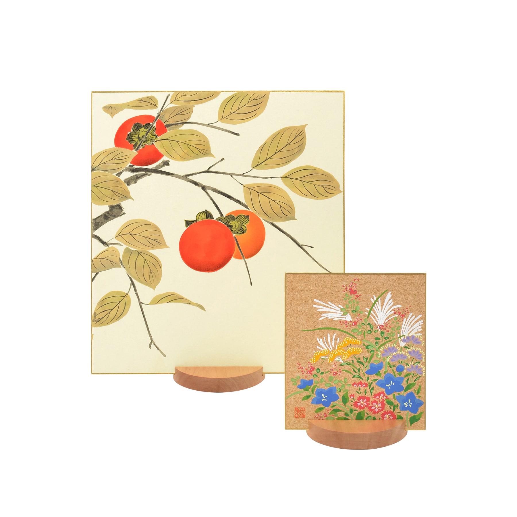 【友禅色紙】 秋のセット 03 | 大 小 2枚組